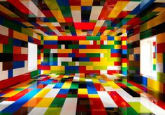 LEGO Rooms Photographed to Look like Full-Sized Spaces by photographer Valentino Fialdini