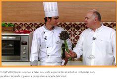 Vila Don Patto | Chef Valdir Nunes | Daniel Bork | Dia a Dia | Band | Receita Alcachofra | Outubro de 2016.