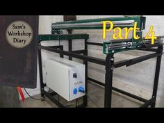 CNC Router and Plasma combo I build a cnc router and plasma combination to save the space for one of them. I used steel pipes to build the frame and Cnc Plasma, It Goes On, Cnc Machine, Cnc Router, Pipes, Steel, Space, Outdoor Decor, Floor Space