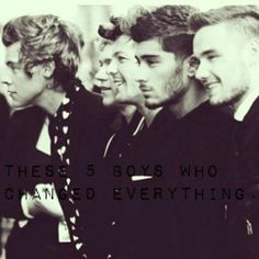They changed my life. But i always will love them. ❤