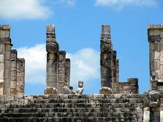Temple of the Warriors, Chichen Itza, Yucatan, Mexico by Bencito the Traveller, via Flickr