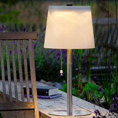 Solar Lamps For Your Terrace. Just As Elegant As A Living Room Lamp. No  Wires. No Electricity Costs.