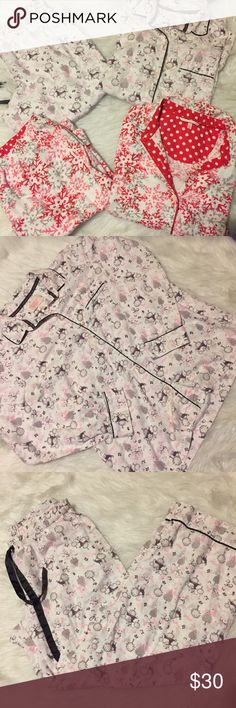 Victoria's Secret pajamas sets 2 sets of Victoria's Secret pajamas in great condition. Both size small in cute patterns Victoria's Secret Intimates & Sleepwear Pajamas