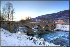 Ponte di San Giorio  Photo taken in Chianocco, Metropolitan City of Turin, Italy