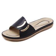 Women Comfortable Shoes Casual Holiday Slippers Ons Material: Artificial PU Inner Material: Super Fiber Inner Material Style: Viscose shoes Color: Blue, Apricot, Pink CN US Size: Heels: Sole Material: Rubber Womens Slippers, Womens Flats, Shoes Flats Sandals, Flat Sandals, Slide Sandals, Women's Shoes, Nursing Shoes, Womens Flip Flops, Beach Shoes