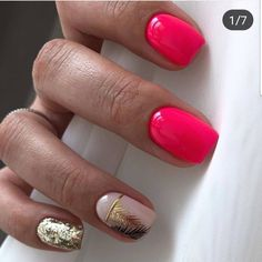 Nail art Christmas - the festive spirit on the nails. Over 70 creative ideas and tutorials - My Nails Square Acrylic Nails, Acrylic Nail Designs, Nail Art Designs, Short Nail Designs, Stylish Nails, Trendy Nails, Nail Manicure, Nail Polish, Shellac Toes