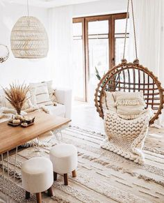 Boho Chic Bedroom, Boho Living Room, Living Room Decor, Barn Living, Cozy Living, Boho Chic Interior, Bohemian Living, Bohemian Homes, Boho Room