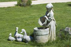 How to Paint Concrete Garden Statues / eBay