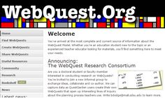 WebQuest.org lists of webquests and how to make your own #makeyourownwebsite Current Source, Own Website, Teacher, Make It Yourself, Education, Garden Web, Classroom Resources, Summary, Teaching Ideas