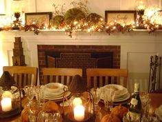 images of fall decorating | Rate My Space: Fall Dinner Party