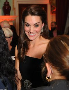 Kate praised the 'inspiring' people involved with Place2Be and its 'remarkable' work in ta...