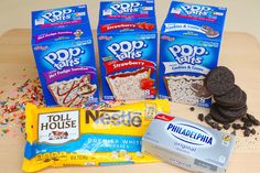 3-Ingredient Pop-Tarts Cheesecake Truffles