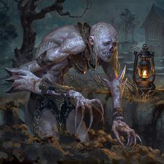 Grave Digger MTG Ultimate Masters 2018 AD: Cynthia Sheppard Thank you for viewing! Gothic Fantasy Art, Fantasy Rpg, Cool Monsters, Dnd Monsters, Monster Photos, Dark Evil, Creepy Monster, Fantasy Monster, Monster Art