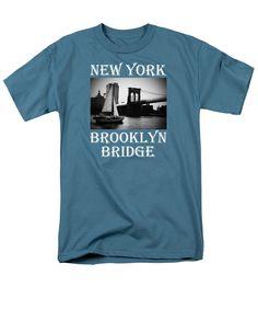 Brooklyn Bridge 7 T-Shirt by S Dolinni