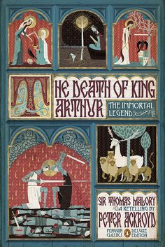 the death of king arthur front by paul buckley design, via Flickr