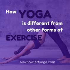 How Yoga is Different from other forms of Exercise