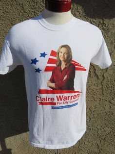 8bd66ca03f The Family TV Show Original Wardrobe Claire Warren City Council Campaign  Tee L