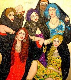 Hindart3: الفنانة العراقية وسماء الاغا:Wassma Al Agha