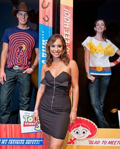 Eric Allen, Cheryl Burke and Amanda Fields at the launch of the Toy Story 3 collection from @REVOLVEclothing (June 2010)