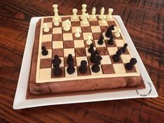 My Chess Cake by xoxaidacakexox Beautiful Cakes, Amazing Cakes, Chess Cake, Candy Stand, Ice Cake, Vegetarian Cake, Indian Desserts, Pumpkin Spice Cupcakes, Novelty Cakes