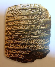 The earliest History of the world is found in lists such as this one of kings who ruled in southern Mesopotamia before the flood. These lists are distinguished by the great lengths of reign attributed to the Kings ( as high as 43,200 year reigns)