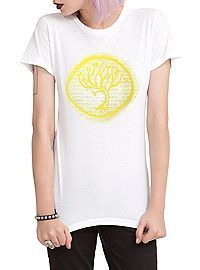 HOTTOPIC.COM - Divergent Amity Seal Girls T-Shirt