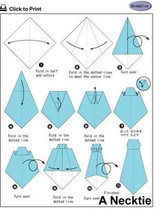 How to make an Origami Neck Tie! How to make an Origami Neck Tie! Origami Tie, Origami Shirt, Origami Paper, Diy Paper, Paper Crafts, Origami Boxes, Dollar Origami, Origami Ball, Oragami