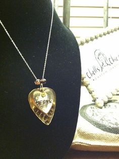 Custom Name Necklace  by Chell's Chic Creations  www.chellschiccreationscustomjewelrydesign.com