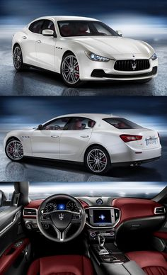 Maserati Ghibli. The poor man's Maserati. But it's still a Maserati!