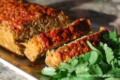 "Lentil ""Meat"" Loaf with Smoked Paprika Glaze [VEGAN] ~ via www.onegreenplanet.org/vegan-recipe/lentil-meat-loaf-with-smoked-paprika-glaze/?utm_source=Green+Monster+Mailing+List&utm_campaign=b5c92ab1ed-NEWSLETTER_EMAIL_CAMPAIGN&utm_medium=email&utm_term=0_bbf62ddf34-b5c92ab1ed-106066261"