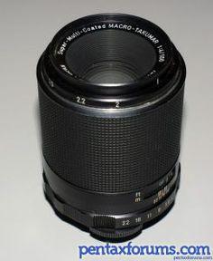 My absolute favorite macro lens: Super Multi-Coated Takumar 100mm F4 Macro.