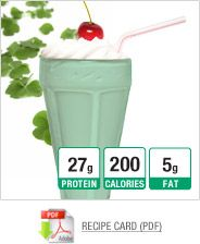 pre & post workout protein shake recipes!