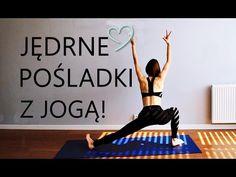 (11) Joga na Jędrne Pośladki ♥ 15-minutowy Trening Pośladków - YouTube Health And Fitness Articles, Health Fitness, Sport Diet, Glutes, Yoga Fitness, Fitness Inspiration, Health And Beauty, Zumba, Stress