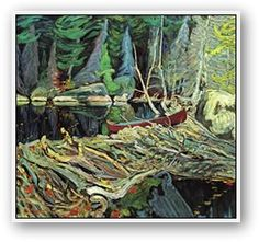 Beaver Dam by Tom Thomson. Tom Thomson, influential Canadian artist of the early century. He directly influenced the Group of Seven, although he tragically died before that group was formed. Emily Carr, Group Of Seven Artists, Group Of Seven Paintings, Canadian Painters, Canadian Artists, Tom Thomson Paintings, Beaver Dam, National Art, Art Moderne