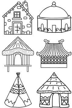 Pour débuter l'année scolaire, on se doit en maternelle de décorer les cahiers de vie et de liaison des enfants pour qu'ils soient beaux quand ils les ramènent à la maison. Cette année, j'ai décidé que le thème serait un grand voyage autour du monde fait... Around The World Theme, Costumes Around The World, Coloring Sheets, Coloring Pages, Craft Robo, Art Classroom Decor, Continents And Oceans, Room On The Broom, Geography For Kids