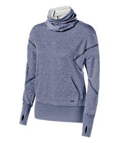 asics zip hoodie womens Blue