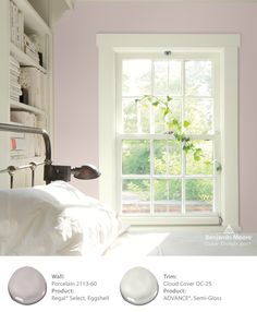 Colour Trends 2017 - Benjamin Moore UK 2017 home paint color trends - Home Trends Top Paint Colors, Paint Colors For Living Room, Paint Colors For Home, Bedroom Colors, Bedroom Ideas, Wall Colors, Bedroom Wall, Bedroom Decor, Benjamin Moore Couleurs