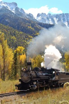 Autumn Trains | Durango & Silverton Narrow Gauge Railroad Train