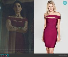 Isabelle's red cutout bodycon dress on Shadowhunters Classy Dress, Classy Outfits, Chic Outfits, Dress Outfits, Fashion Dresses, Dress Up, Bodycon Dress, Emo Outfits, Trendy Outfits