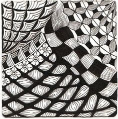 zentangle  May 2013...this is about where my level is