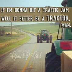 With red tractors
