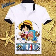 ÁO PHÔNG CỘC TAY CỔ TRỤ LUFFY CHIBI  One Piece – Đảo Hải Tặc là một trong những manga, anime đình đám rất được yêu thích không chỉ ở Việt Nam mà còn rất nhiều nơi trên thế giới. Nhận thấy nhu cầu có một chiếc áo thun One Piece đẹp, TAKTAK mang đến cho cộng đồng Fan những mẫu Áo Thun One Piece phong cách cá tính cùng công nghệ vẽ in áo thun chuyên nghiệp, cập nhật xu hướng thời trang Áo Thun.