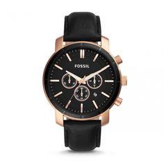 Fossil BQ2286 - Era of your Time  #DesignerPoshWatches #ForHim #Gift #Watches #Watchcollection #UK #Classic_Watches #BestGifts #Trends_Watch #Watchoholic #Formens #Wristwatch #quartzwatch #watch #time #watchlover #watchaddict #watchoftheday #luxurylifestyle #watchesformen #Fossil #BQ2286 Fossil Watches, Cool Watches, Watches For Men, Unique Watches, Gold Face, Quartz Watch, Leather Case, Chronograph, Best Gifts