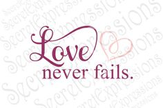 Vinyl Projects, Pallet Projects, Sign Stencils, Cricut Explore Air, Love Never Fails, Figure It Out, Couple Gifts, Cricut Design, Silhouette Cameo