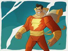 Captain Marvel by Dave Bardin.