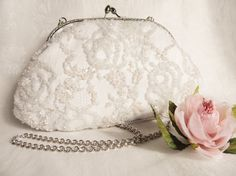 High fashion wedding Purse clutch for bride in by LoveThirties