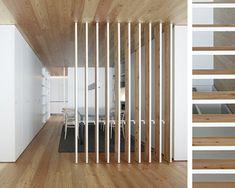 10 Ideas para separar ambientes | Tablas de madera                                                                                                                                                     Más