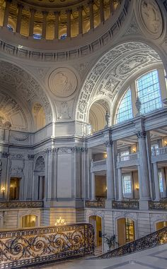 San Francisco City Hall...this building is just as beautiful outside as in....