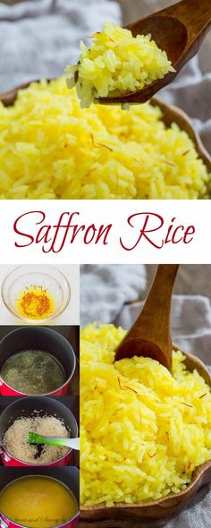 Incredibly fluffy and aromatic saffron rice is a perfect compliment to any dish. Here you'll find lots of tips on making perfectly fluffy saffron rice every time.