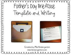 A Father's Day gift that a father will never forget! An adorable briefcase filled with *honest* descriptions about dad! Both briefcase template and...